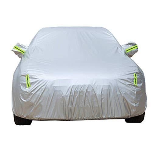 Autoabdeckungen Kompatibel mit Ford Focus Ecoblue ST Hatchback 5-Türer, Atmungsaktiv Wasserdicht Autoabdeckplane Abdeckung Plane Autoplane Vollgarage Autogarage mit Aufbewahrungstasche