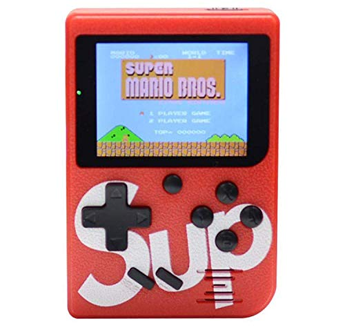 Pikyo AB400N1 Sup Game with Remote Rechargeable with 400 in 1 Classic Game Console/Led Screen/Retro Classic Gaming Console (Random Color)