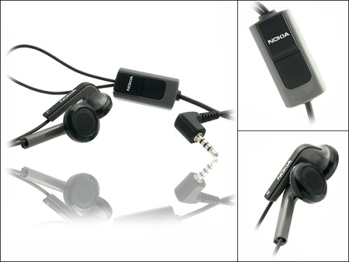 Original Nokia HS-47 stereo Headset schwarz (Kopfhörer) für Nokia E90 Communicator