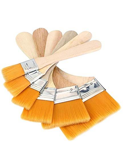 ペイント刷毛 油絵用筆 多用途刷毛 高品質 画材筆 水性ペンキ用必需品セット