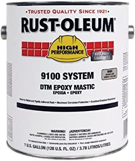 High Performance 9100 System DTM Epoxy Mastic - 402 safety blue high perf. epoxy requires 91 [Set of 2]