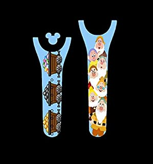 Vinyl Skin Decal Wrap Sticker Cover for the MagicBand 2 Magic Band 2 Dwarfs Mining Themed