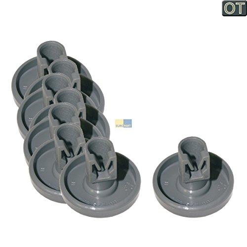 AEG 50286965004 - Cesta con ruedas para lavavajillas (8 piezas)