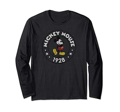 Disney Retro Mickey Mouse Long Sleeve T-shirt