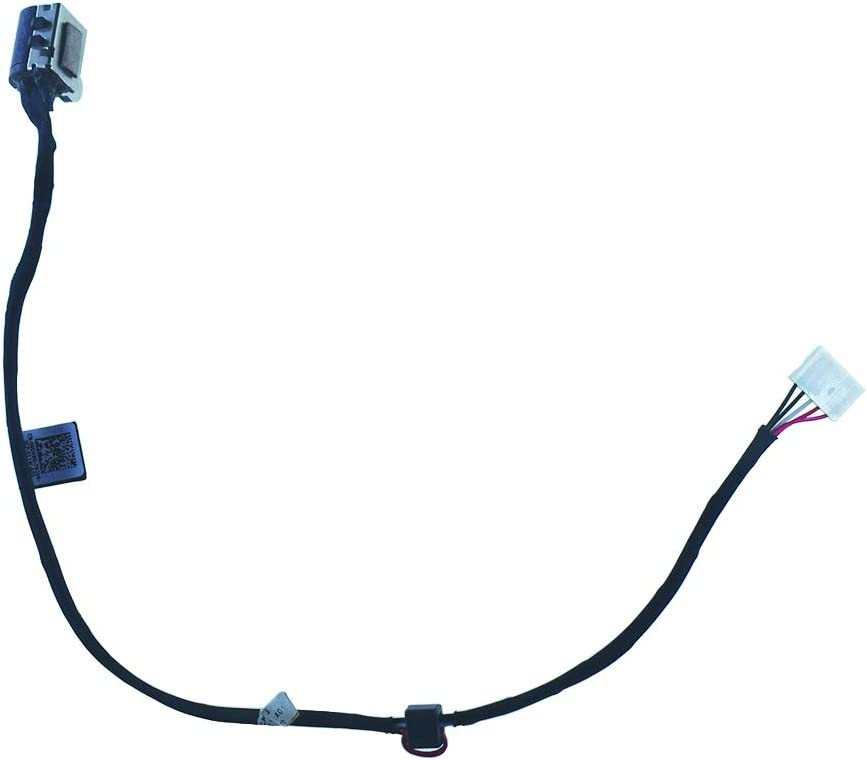 DC in Power Jack Cable Connector for D-ell I-nspiron 17 7737 7746 17-7737 17-7746 P24E 17.3