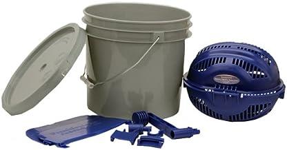 Frankford Arsenal Kit de peneira rotativa Quick-N-EZ com separador de mídia, adaptador de balde e balde de 8,8 litros para...