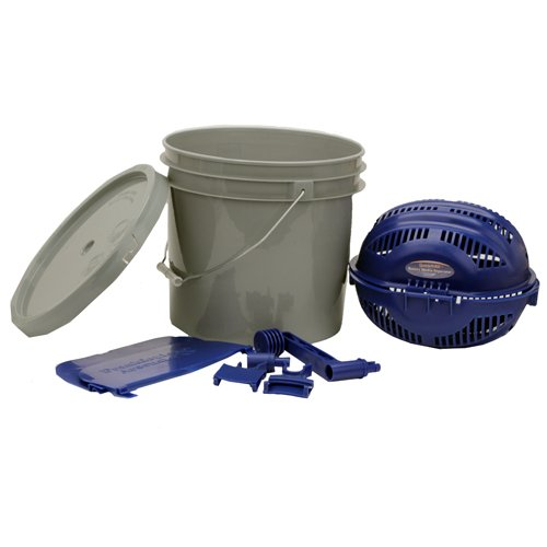 Frankford Arsenal Quick-N-EZ Rotary Sifter Kit with Media Separator, Bucket Adapter and 3 1/2 Gallon Bucket for Reloading
