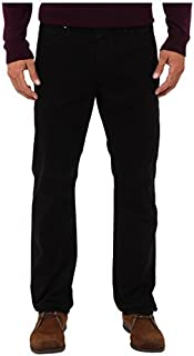 AG Adriano Goldschmied Men's The Graduate Tailored Sud Pants In Super Black