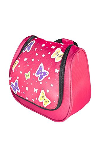 Grüezi-Bag Kinder Kulturtasche Washbag Kids Butterfly, im Schmetterling Design, 20 x 20 x...