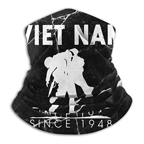 XXWK Halstuch/Kopftuch, Vietnam 1948 Veterans Men & Women Cold Weather Neck Gaiter Tube for Cycling Motorcycle Ski Face