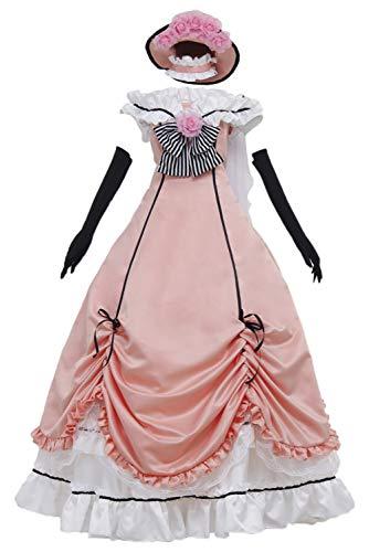 MingoTor Black Butler Ciel Phantomhive Kleid Cosplay Kostüm Damen XL