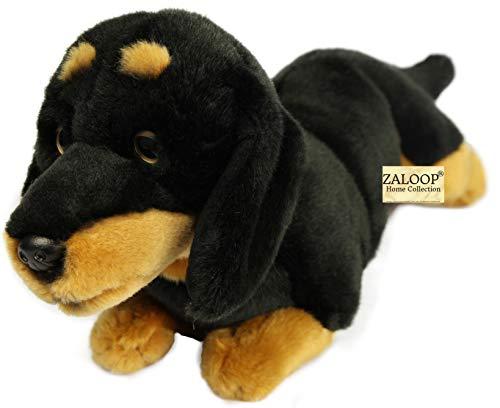 Zaloop Dackel ca. 33 cm Plüschtier Kuscheltier Stofftier Plüschhund Hund 145