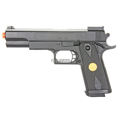 bbtac p169 airsoft 260 fps spring pistol with functional safety and reinforced trigger(Airsoft Gun)