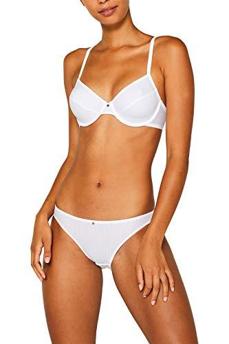 ESPRIT Bodywear Damen 995EF1T915 Slip, 100/WHITE, 40
