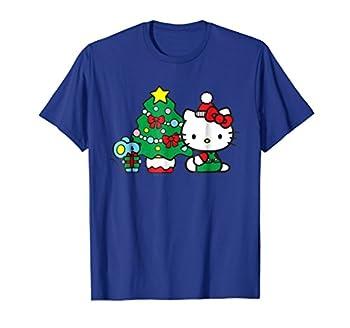Hello Kitty Christmas Tree Tee Shirt