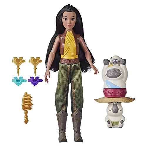 Hasbro Disney Princess Raya e l'Ultimo Drago fashion doll con accessori
