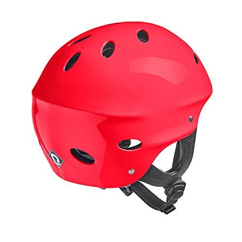 Crewsaver Boating and Sailing - Kortex Watersports Helmet Red - Unisex - Lightweight