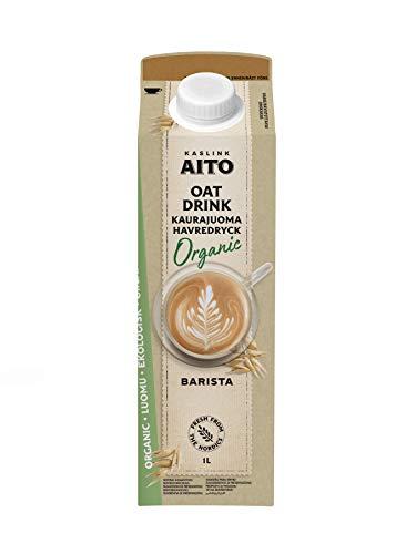 Aito Bio Barista Hafer Drink vegan foamable Hafermilch 1L 6 Pack