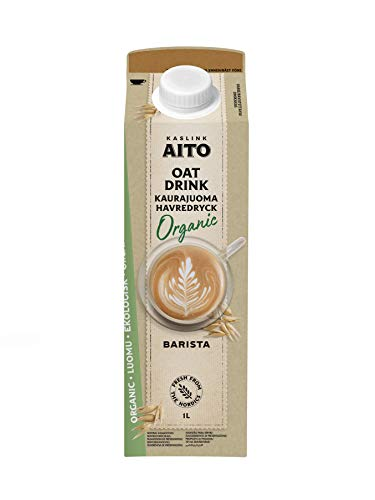 Aito Bio Barista Hafer Drink vegan foamable Hafermilch 1L 6 Pack