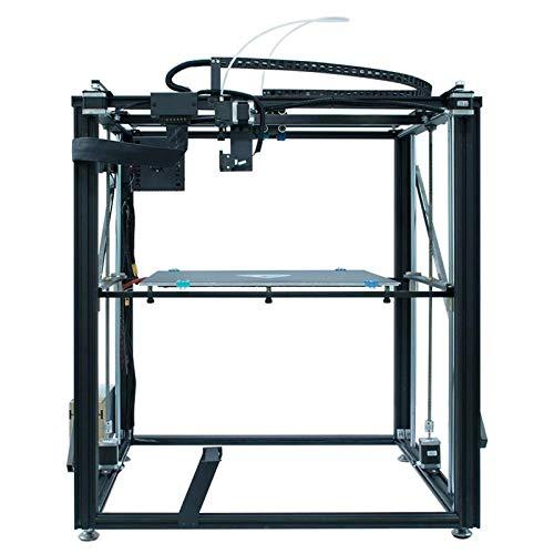 LINPAN Stampante 3D Fai da Te 3D Grandi Dimensioni di Stampa con Estrusore Guida A Doppio ASSE Ultra Silenziosa con Piastra di Superficie di Costruzione Rimovibile