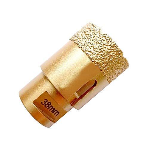 WY-YAN HZR Vacuum Brazed Diamond Drilling Core Bits, M14 Thread Stone Drill Bits for Granite Marble