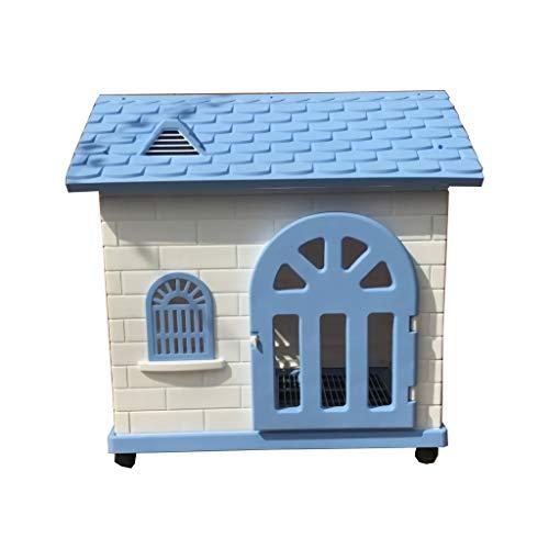 Chengxin hondenkooi hondenbox in de vrije natuur huisdier kleine hond plastic dog house dog cage huis plastic dog house kennel gevogelte kooi