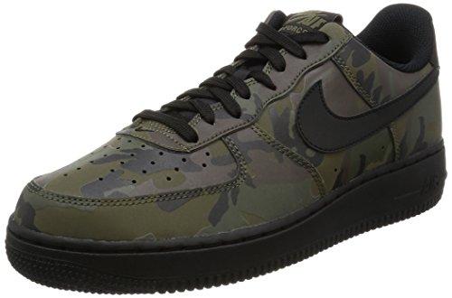Nike Air Force 1'07LV8 - zapatillas de caña baja para hombres, color Verde, talla 40.5 EU