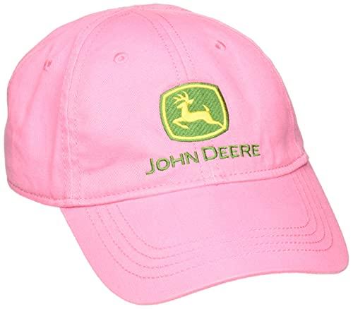 JOHN DEERE Mädchen Trademark Baseball Cap - Pink - Einheitsgröße