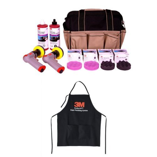 3M Accuspray 02516 Headlight Lens Restoration System and 3M 06059 Perfect-It Paint Finishing Aprons