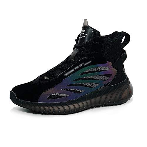 JMAR Calzado Deportivo para Hombre -Skateboarding para Hombre Zapatillas De Baloncesto Zapatillas para Correr Zapatillas Deportivas De Moda Cordones Tenis Ligeros Y Transpirables Zapatos Casuales