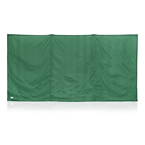 Kittrich Corporation The WallUp Instant Outdoor Privacy Screen, 6-feet High by 12-feet Wide, Green