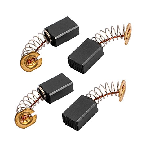 sourcing map 2 pares de 13x9x6mm Cepillos de Carbono Herramienta eléctrica para motor de taladro percutor eléctrico