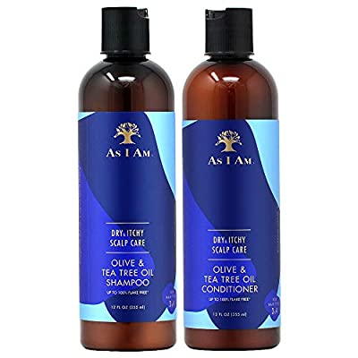 As I Am Dry & Itchy Scalp Care Shampoo and Conditioner 12oz