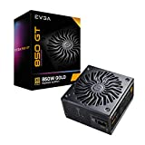 EVGA Supernova 850 GT, 80 Plus Gold 850W, Fully Modular, Auto Eco Mode with FDB Fan, 7 Year Warranty, Includes Power ON Self Tester, Compact 150mm Size, Power Supply 220-GT-0850-Y1