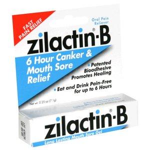 Zilactin-B Mouth Sore Gel