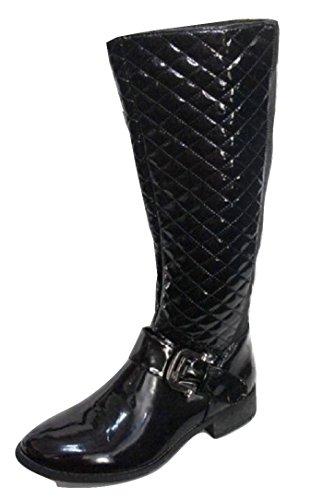 chix - Botas para Mujer Negro Black Patent 36 (4 UK)