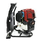 Desbrozadora de gasolina para la espalda, 1,4 HP, con motor de 4 tiempos, multifunción, 1 kW, desbrozadora