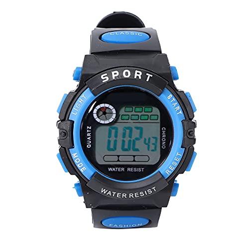 Relojes para Niños, Relojes Digitales Deportivos De Diseño Impermeable con Función De Cronómetro para Deportes Al Aire Libre