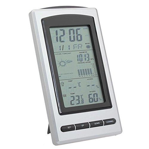 JenNiFer Auto Binnen Buiten Draadloos Weerstation Thermometer Hygrometer