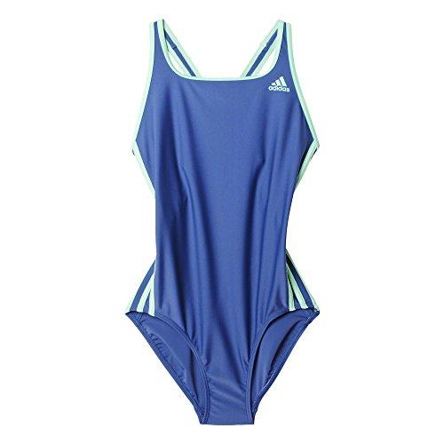 adidas Damen Badeanzug I 3S 1PC, Raw Purple S16/Green Glow S16, 36