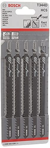 Bosch Professional 2 608 633 A34 hojas de sierra de calar, 0...