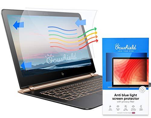 Ocushield Anti-Blaulicht PC Monitor Bildschirmschutz mit Privacy Filter – PC Bildschirm mit Blue-light Sperrung – Blaulicht-Filter - Anerkanntes Computer Monitor Medizinprodukt-Blendschutzfilter