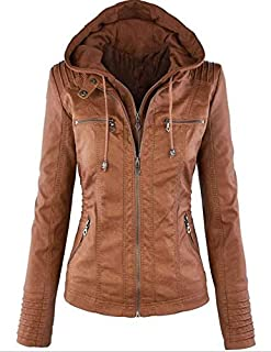 European and American leather windproof jacket full sleeves wide lapel collar irregular zipper casual coat