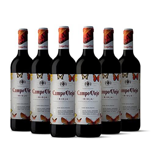 Campo Viejo Ecológico Pack 6 botellas D.O.Ca Rioja Vino - 750 ml