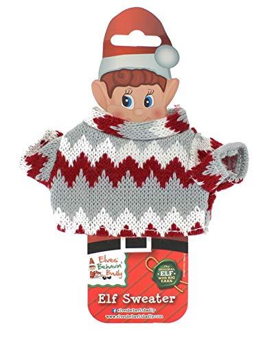 Hoolaroo Asst Gebreide Elf Truien - (4 Ontwerpen beschikbaar, 1 Verzonden bij Random)