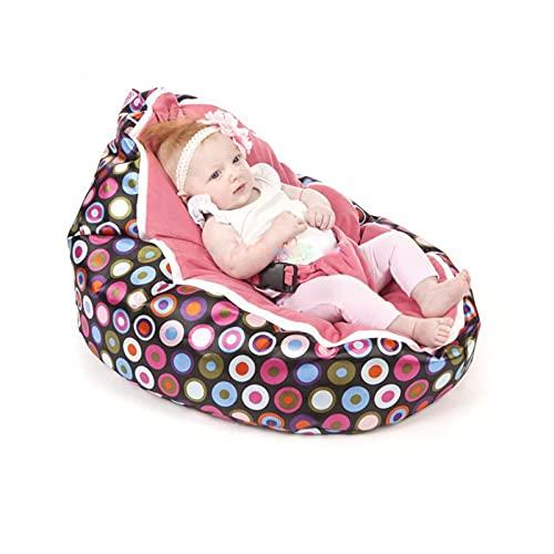 Xin Hai Yuan Baby-Sitzsack für Neugeborene, sicherer Sitzsack, Kindersitzsack, Pink