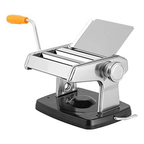 ZWB Nudelmaschine Manuell Manuelle Nudeln Presse-Maschine Pasta Roller Cutter Nudeln Lasagna Makkaroni Frische Hausgemachte Nudeln Maschine mit festen und stabilen Saugfuß Haushalt Multi-Function