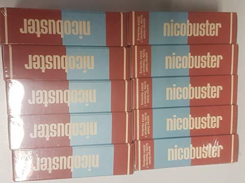 Nicobuster Regular Zigarettenfilteraufsatz 10 Schachtels a 30 Filteraufsätze, S