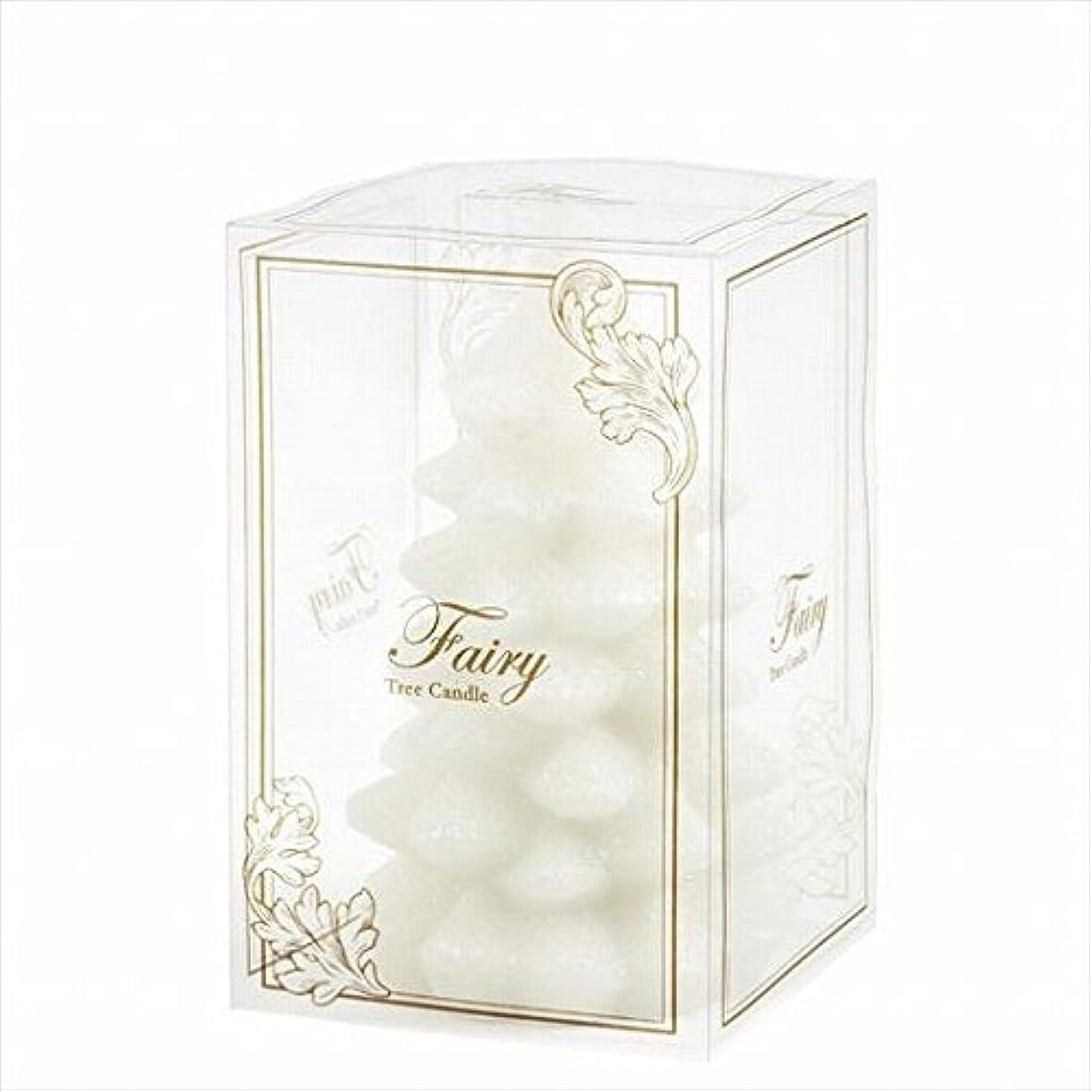 足音滴下強打カメヤマキャンドル(kameyama candle) フェアリーツリーM 「 ホワイト 」