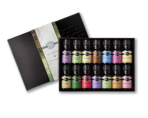 P&J Trading Favorites Set of 14 Premium Grade Fragrance Oils - 10ml